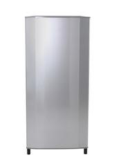 Modern silver refrigerator