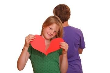 Erste Liebe - Zerbrochenes Herz - Liebeskummer