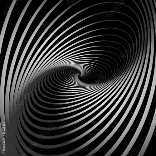 Abstract background with spiral whirl movement.