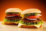 Fototapety Big hamburger
