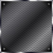 carbon metal mesh background