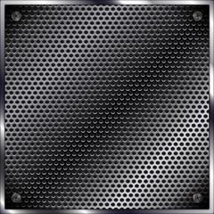 carbon metal mesh background