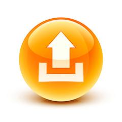 icône envoi upload / upload icon