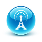 icône antenne wifi / wifi icon
