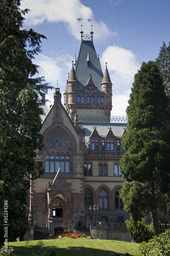 Drachenfels castle near by Bonn, Germany