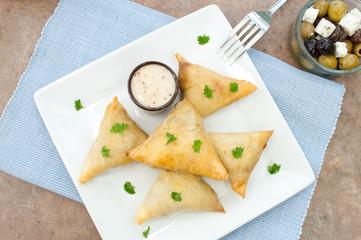 Feta cheese pastries