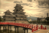 Fototapety Matsumoto Castle in Matsumoto, Japan