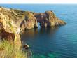 Diana grotto in the Black sea, Ukraine