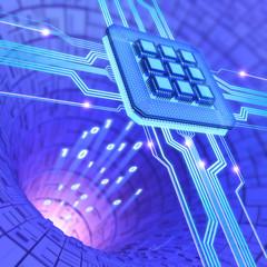 Microchip Technology Concept