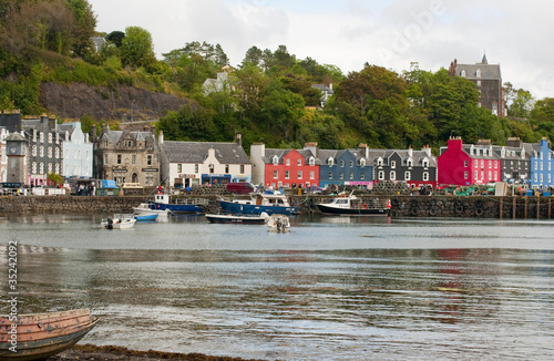 The houses at Tobermory