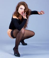 Performer Posing Professional
