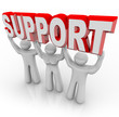 Support People Lifting Your Burden in Difficult Times