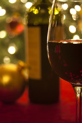 Red Wine at Christmas