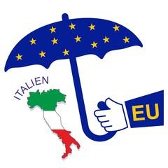 Rettungsschirm Italien