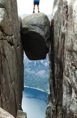 Kherak boulder