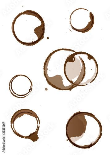 tache de tasse de caf stock image and royalty free vector files on pic 35251267. Black Bedroom Furniture Sets. Home Design Ideas