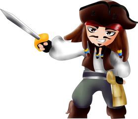 Jack Sparrow Chibi