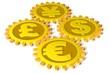 Währungen verzahnt