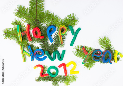 Children's work for Happy New Year 2012