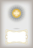 Greeting card for First Communion