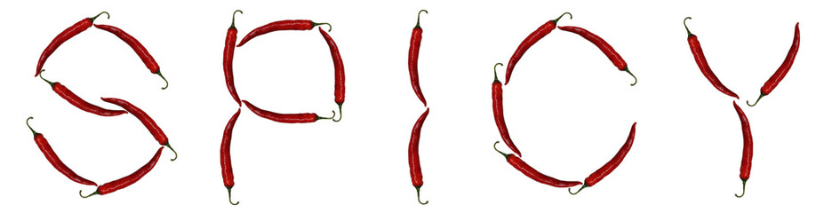 spicy peppers,alphabet