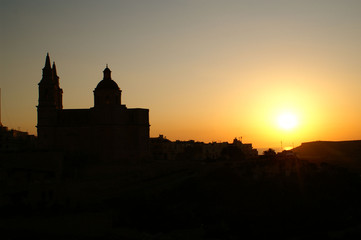 Malte Mellieha sunset