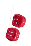 Red Fuzzy Dice