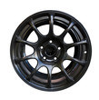 Alloy wheel with clipping path
