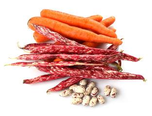 Carote e fagioli - Carrots and beans