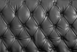 black genuine leather poster