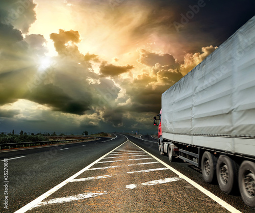 Fototapeten,sturm,freight,lastkraftwagen,transport