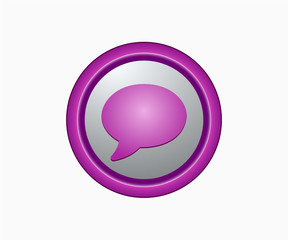 Chat - Glossy icon
