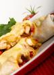 Chicken and Cheese Burritos & Salsa