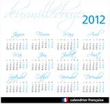 script  2012 francés poster