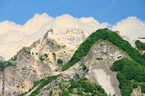 Carrara Marmor Steinbruch - Carrara  marble stone pit 15