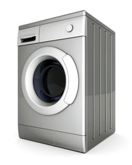 picture of washing machine on a white background