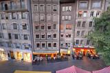 Fototapety Town houses in Geneva, Switzerland