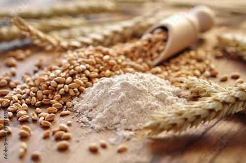 Leinwanddruck Bild Weizen