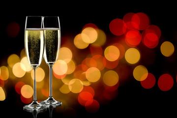 champage glasses