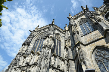 The Cathedral of Aachen (Germany)