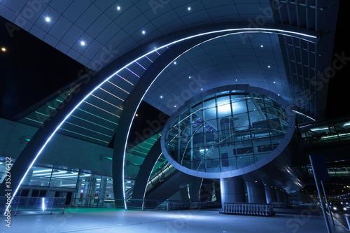 In de dag Luchthaven Dubai International Airport, United Arab Emirates