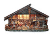weihnachtskrippe Holzfiguren