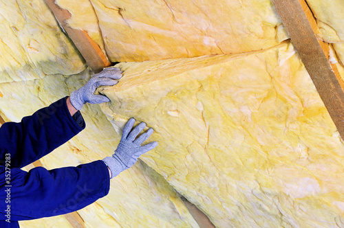 Mineralwolle - mineral rock wool 02 - 35279283