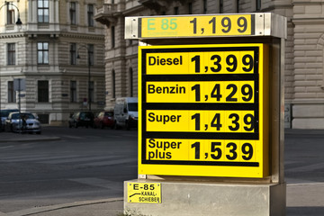 Rising gas price