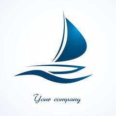 logo voilier, logo bateau