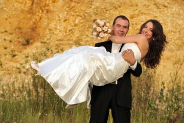 bridal, celebration, couple, fun, happy, wedding