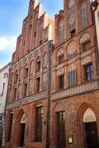 Nikolaus Kopernikus -Haus in Torun,Poland