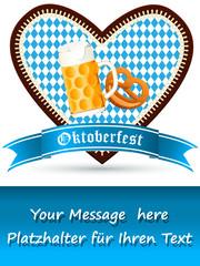Flyer für Oktoberfest