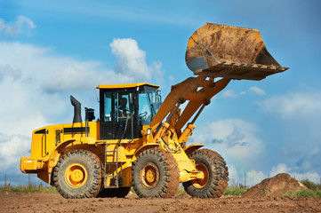 construction loader excavator