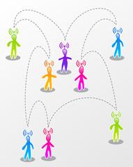 Speech social media interaction